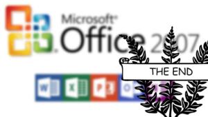 El soporte de Microsoft Office 2007 llega oficialmente a su fin