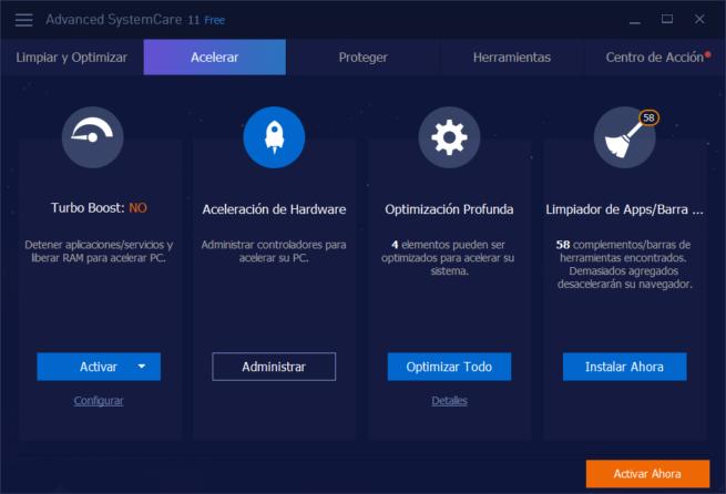IObit Advanced SystemCare 11 - Mejorar velocidad Windows