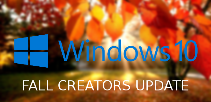 Lanzamiento Windows 10 Fall Creators Update