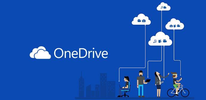 OneDrive Almacenamiento en la nube