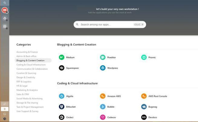 Aplicaciones web Station