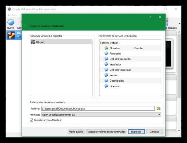 VirtualBox 5.2 Oracle Public Cloud