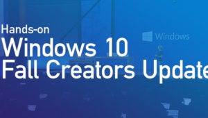 Windows 10 Fall Creators Update RTM llega al anillo lento de Insider