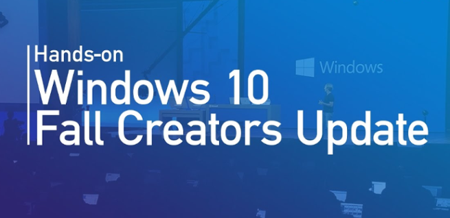 Windows 10 Fall Creators Update - Hands On