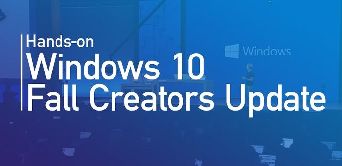 Windows 10 Fall Creators Update - Hands On