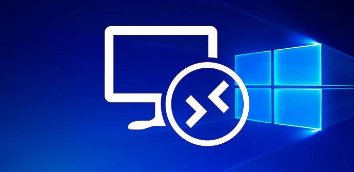 escritorio remoto Windows 10