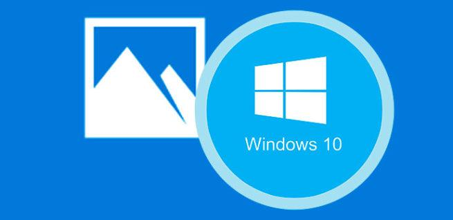 fotos de windows 10