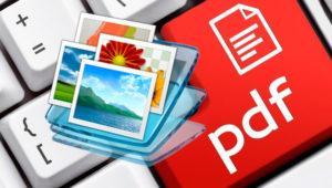 Crea tus propios PDF a partir de archivos como fotos, webs o documentos de Word
