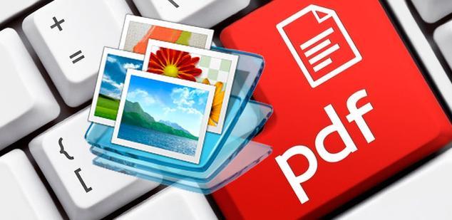 combinar fotos en pdf