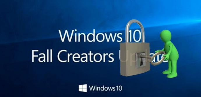login windows 10 fall creators update