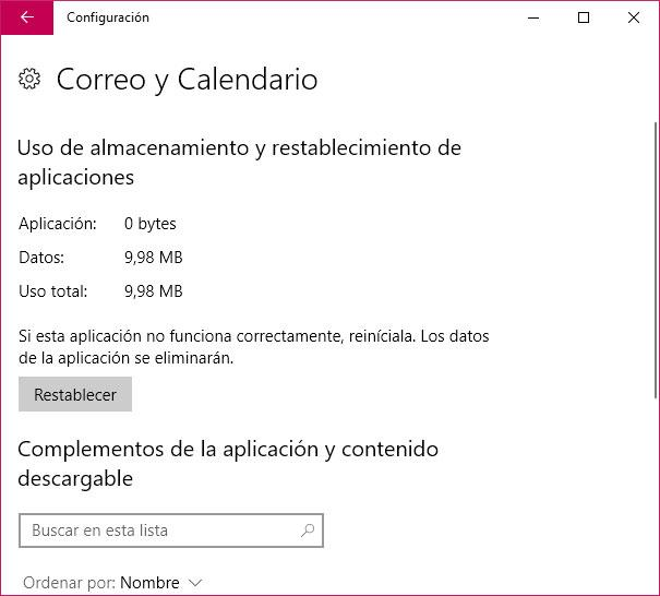 menú Inicio en Windows 10 Fall Creators Update