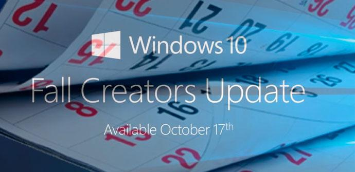retrasar actualización a Windows 10 Fall Creators Update