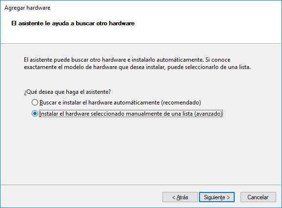 ubicación en Windows 10