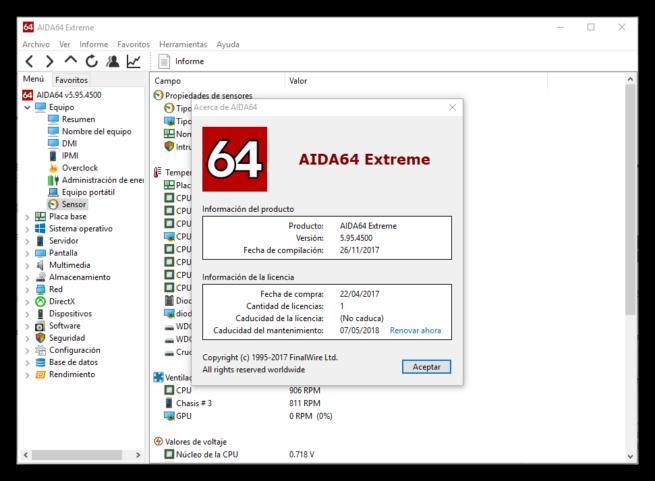 AIDA64 5.95