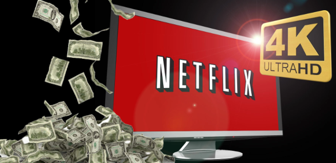 Pagar Netflix 4K