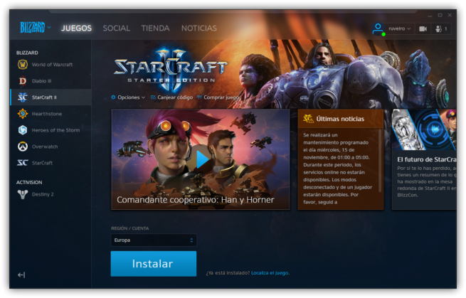 Starcraft II gratis