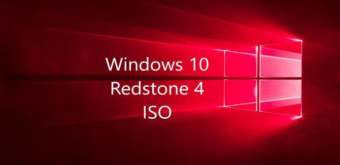 Redstone 4 ISO