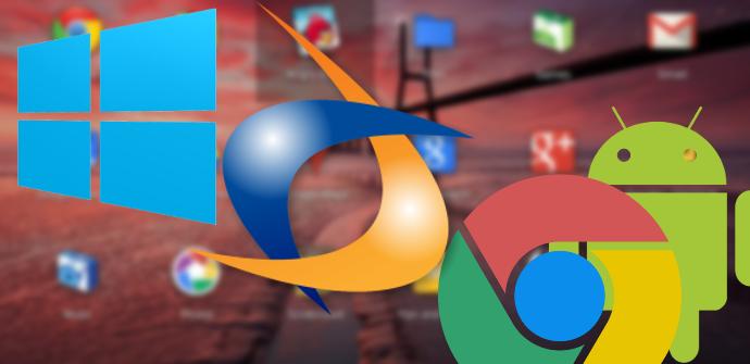 Windows en Android Chrome OS
