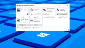 Qué es el centro de movilidad de Windows 10 y cómo anclarlo a la barra de tareas