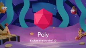Poly, la librería de Google para hacer frente al Remix 3D de Microsoft
