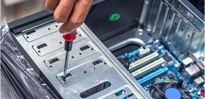 Imagen de cómo se construye un ordenador desde cero
