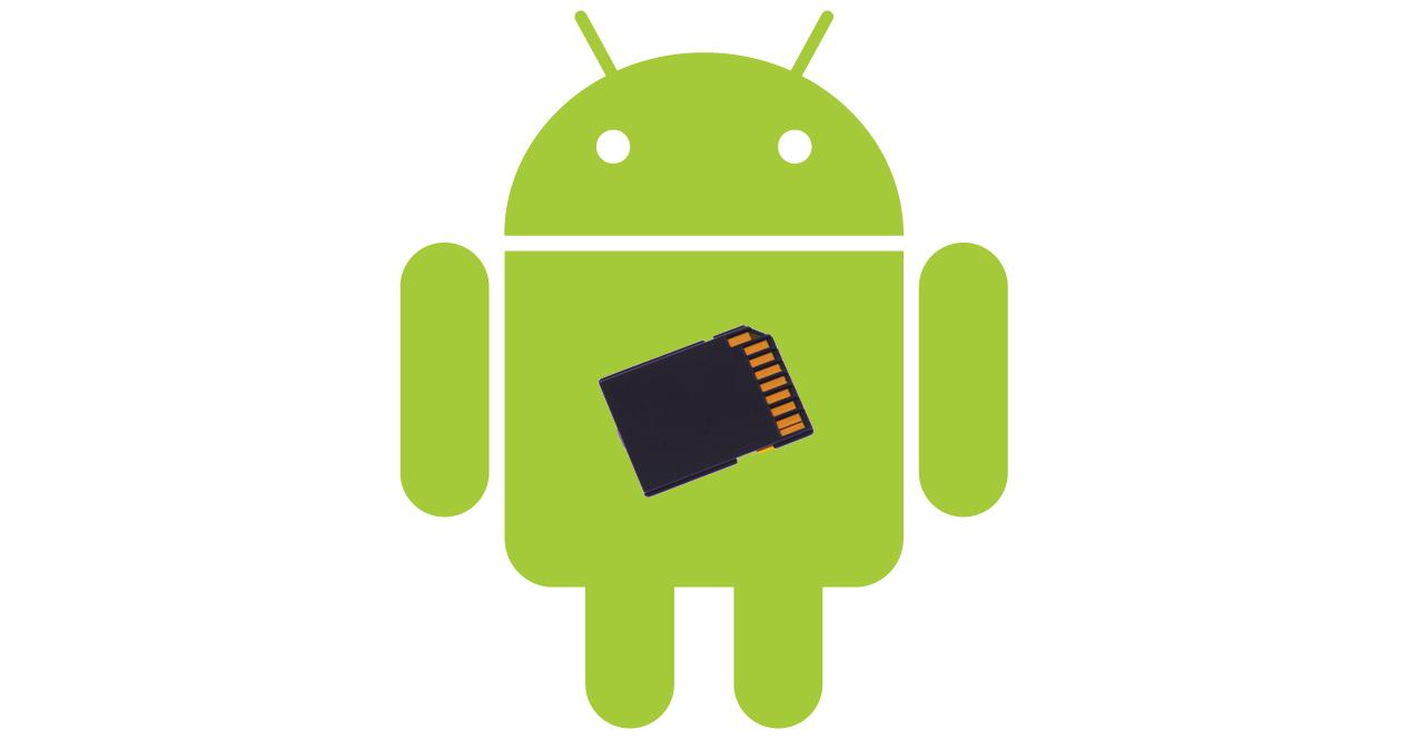 En esta imagen se puede apreciar el icono de Android y cómo gestionar sus archivos