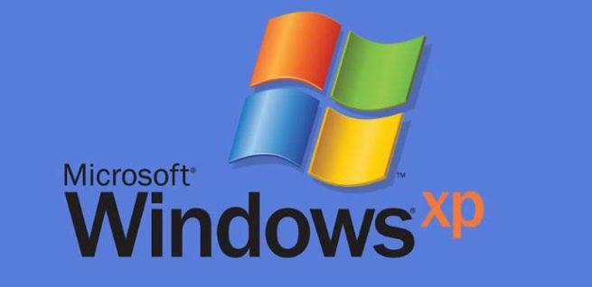 Imagen del logo del sistema operativo Windows XP, cuya cuota de mercado mundial creció en octubre de 2017