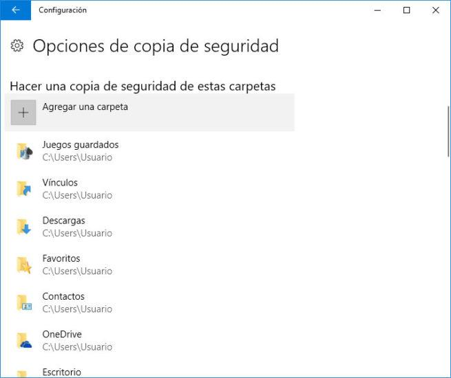 copia de seguridad de los correos de Outlook