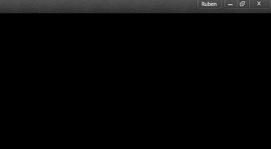Google Chrome pantalla en negro
