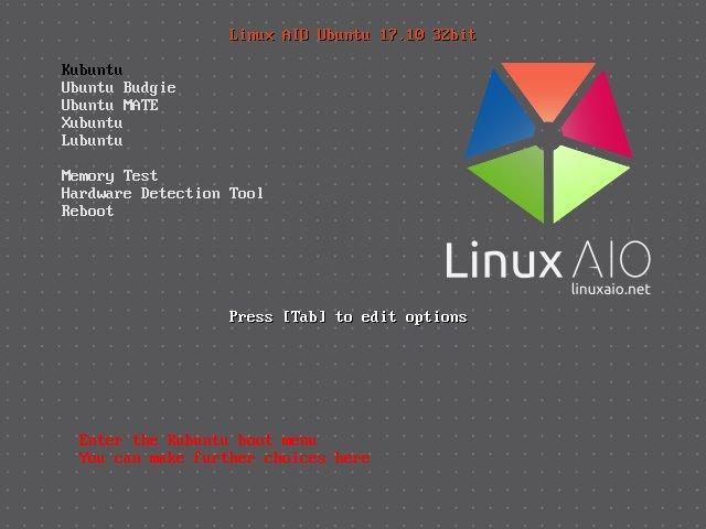 Linux AIO Ubuntu 17.10