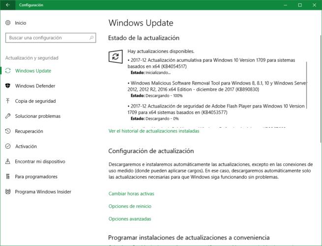 Parches seguridad diciembre 2017 Microsoft