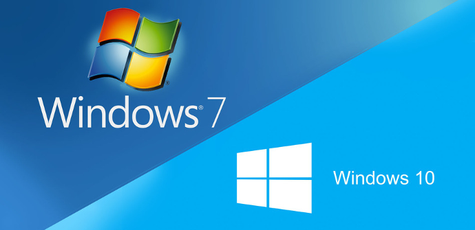 Windows 7 windows 10