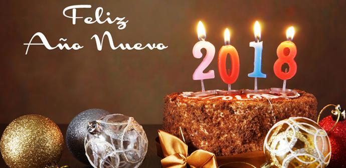 Felicitar año 2018 Android iOS