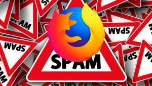 Cuidado, el sitio oficial de descarga de extensiones para Firefox está lleno de spam