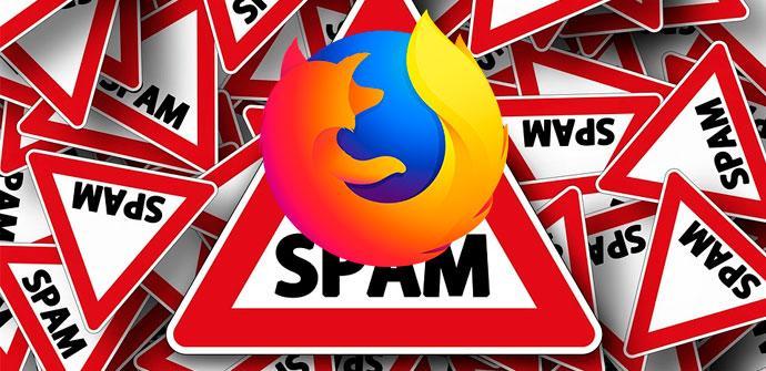 Ver noticia 'Cuidado, el sitio oficial de descarga de extensiones para Firefox está lleno de spam'