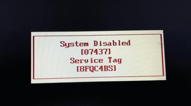 contraseña de la BIOS