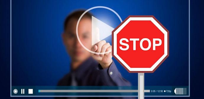 evitar la reproducción automática de vídeos