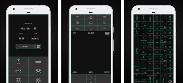 convertir el móvil en ratón y teclado