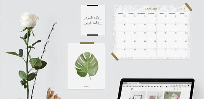 Calendario oficina 2018