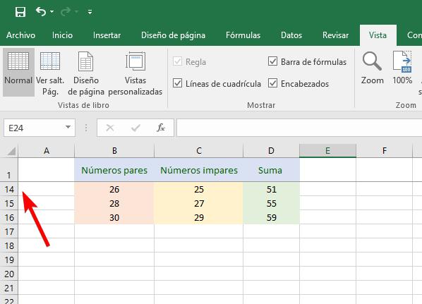 Excel 2016 - Bloquear filas
