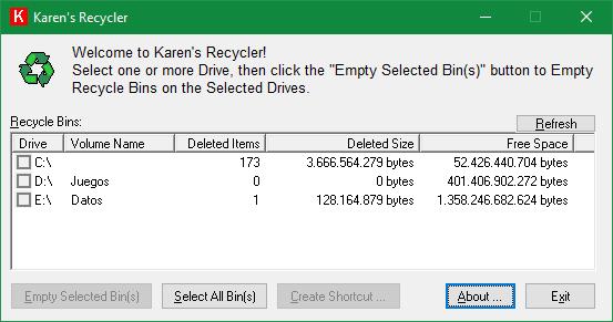 Karen's Recycler