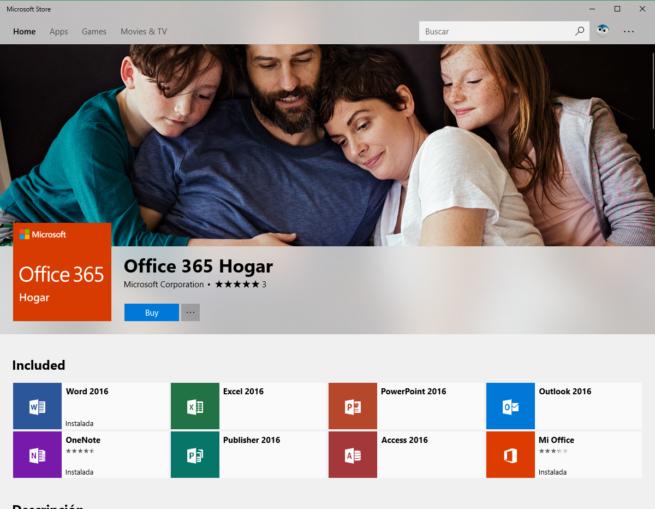 Office en Microsoft Store