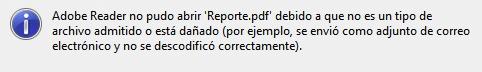 PDF dañado