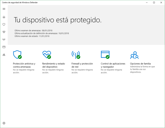 Windows Defender Windows 10 2018