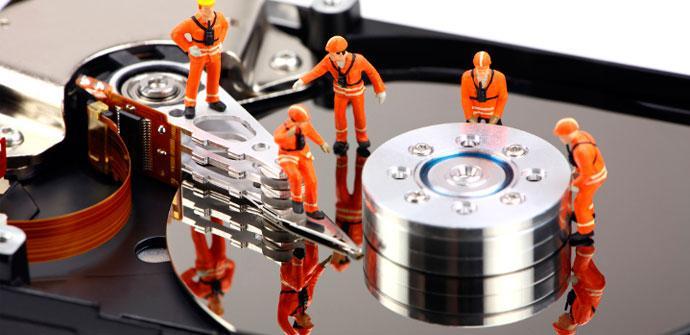 problema en el disco duro