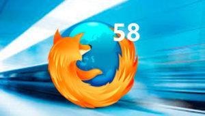 Firefox 58 será más rápido y estará disponible en unos días