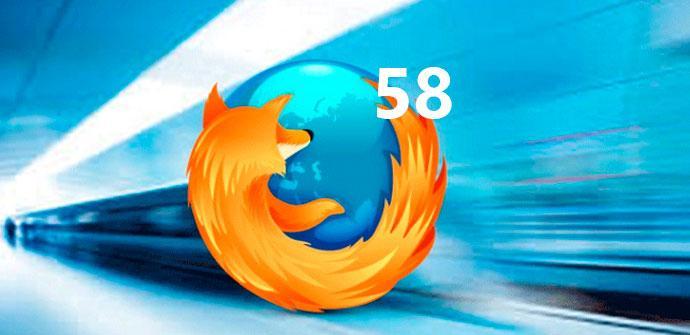 Ver noticia 'Firefox 58 será más rápido y estará disponible en unos días'