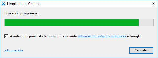 resolver problemas en Chrome