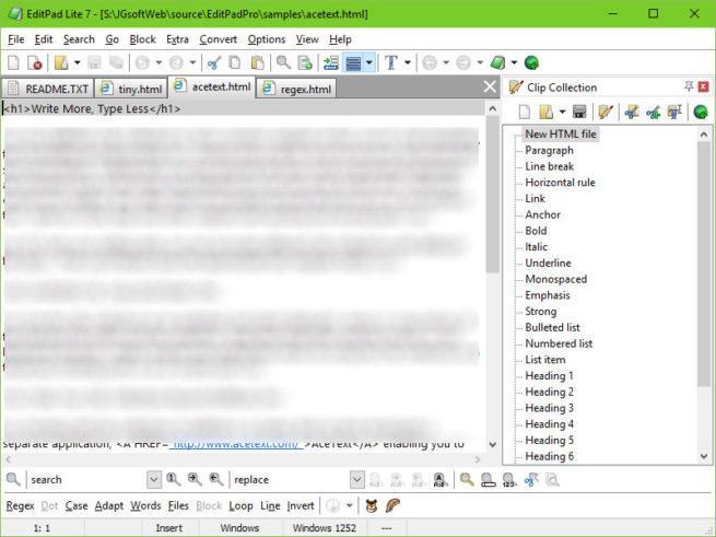 archivos de texto de gran tamaño