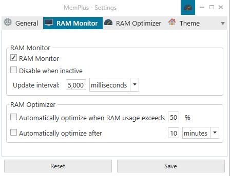 optimizar el uso de memoria RAM